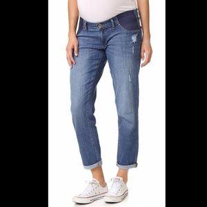 DL1961 Maternity Riley Boyfriend Jeans Size 30